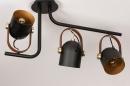 Plafondlamp 74154: industrie, look, modern, eigentijds klassiek #4