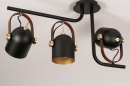 Plafondlamp 74154: industrie, look, modern, eigentijds klassiek #5
