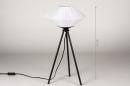 Tafellamp 74158: landelijk, rustiek, modern, eigentijds klassiek #1
