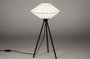 Tafellamp 74158: landelijk, rustiek, modern, eigentijds klassiek #2
