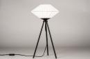 Tafellamp 74158: landelijk, rustiek, modern, eigentijds klassiek #3