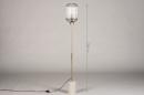 Vloerlamp 74161: landelijk, rustiek, modern, klassiek #1