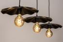 Hanglamp 74163: landelijk, rustiek, eigentijds klassiek, metaal #6