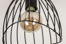 Plafondlamp 74166: modern, retro, metaal, zwart #7