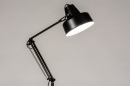 Vloerlamp 74169: retro, eigentijds klassiek, art deco, metaal #2