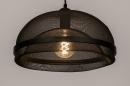Hanglamp 74180: sale, zwart #3
