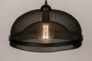 Hanglamp 74180: sale, zwart #4