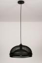 Hanglamp 74180: sale, zwart #5