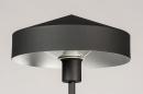 Vloerlamp 74189: modern, metaal, zwart, mat #7