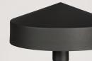 Vloerlamp 74189: modern, metaal, zwart, mat #8