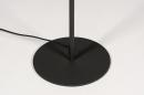 Vloerlamp 74189: modern, metaal, zwart, mat #9