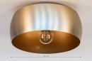 Plafondlamp 74198: landelijk, rustiek, modern, klassiek #1