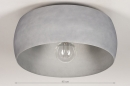 Plafondlamp 74200: industrie, look, modern, stoer #1