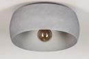 Plafondlamp 74200: industrie, look, modern, stoer #4