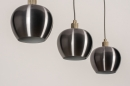 Hanglamp 74205: modern, aluminium, metaal, goud #10
