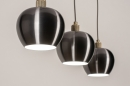 Hanglamp 74205: modern, aluminium, metaal, goud #15