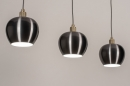 Hanglamp 74205: modern, aluminium, metaal, goud #4