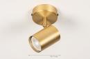 Plafondlamp 74209: landelijk, rustiek, modern, klassiek #1