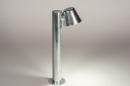 Vloerlamp 74213: sale, design, modern, gegalvaniseerd staal thermisch verzinkt #3