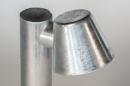 Vloerlamp 74213: sale, design, modern, gegalvaniseerd staal thermisch verzinkt #6