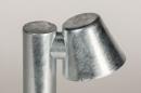Vloerlamp 74213: sale, design, modern, gegalvaniseerd staal thermisch verzinkt #7