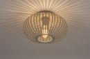 Plafondlamp 74223: modern, retro, metaal, beige #2
