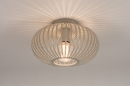 Plafondlamp 74223: modern, retro, metaal, beige #4