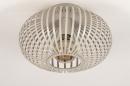 Plafondlamp 74223: modern, retro, metaal, beige #5