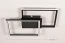 Plafondlamp 74227: design, modern, kunststof, metaal #1