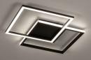 Plafondlamp 74227: design, modern, kunststof, metaal #2