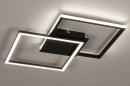 Plafondlamp 74227: design, modern, kunststof, metaal #3