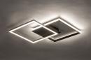 Plafondlamp 74227: design, modern, kunststof, metaal #6