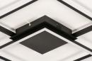 Plafondlamp 74227: design, modern, kunststof, metaal #8