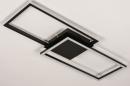 Plafondlamp 74229: design, modern, metaal, zwart #5