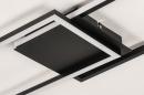 Plafondlamp 74229: design, modern, metaal, zwart #8
