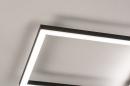 Plafondlamp 74229: design, modern, metaal, zwart #9