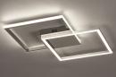 Plafondlamp 74230: design, modern, aluminium, kunststof #2