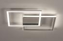 Plafondlamp 74230: design, modern, aluminium, kunststof #4