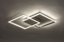 Plafondlamp 74230: design, modern, aluminium, kunststof #5