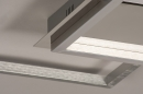Plafondlamp 74230: design, modern, aluminium, kunststof #7