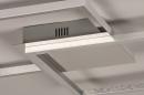 Plafondlamp 74230: design, modern, aluminium, kunststof #8