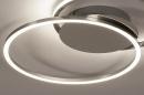 Plafondlamp 74231: design, modern, aluminium, kunststof #5