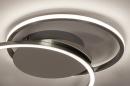 Plafondlamp 74231: design, modern, aluminium, kunststof #6
