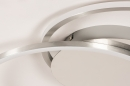 Plafondlamp 74231: design, modern, aluminium, metaal #7