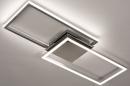 Plafondlamp 74232: design, modern, aluminium, kunststof #2