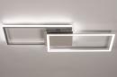 Plafondlamp 74232: design, modern, aluminium, kunststof #4