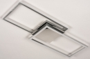 Plafondlamp 74232: design, modern, aluminium, kunststof #5