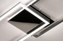 Plafondlamp 74232: design, modern, aluminium, kunststof #6