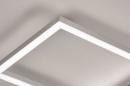 Plafondlamp 74232: design, modern, aluminium, kunststof #8