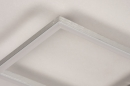 Plafondlamp 74232: design, modern, aluminium, kunststof #9